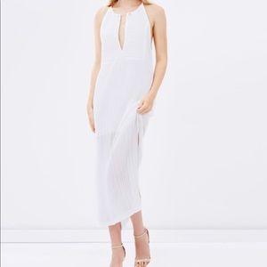 Shona Joy Sleeveless Kaftan Maxi in White